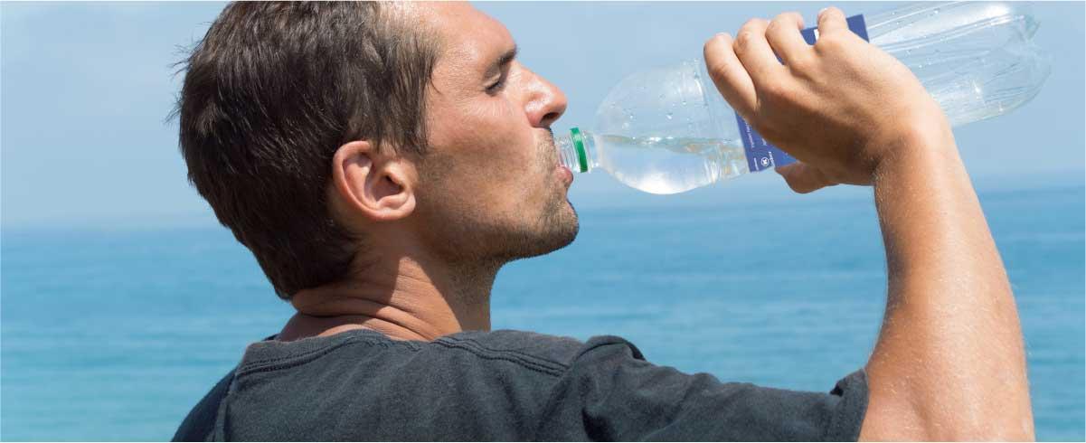 la importancia de la hidratación durante todo el año