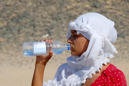 estar bien hidratado durante las vacaciones
