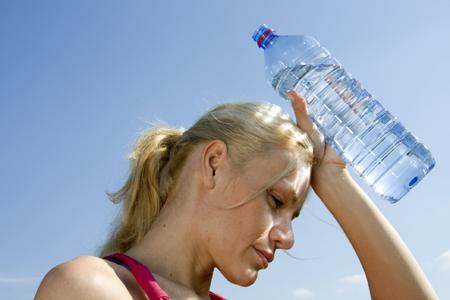 tienes sed, la deshidratación ya ha comenzado