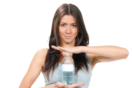 la sed, síntoma de deshidratación