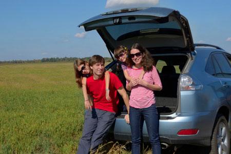 viajes en coche con tus hijos