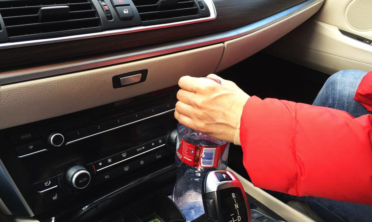 hidratación al volante